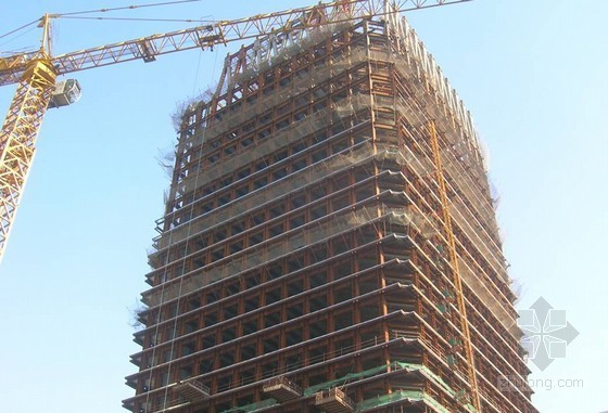 超高层建筑钢结构施工技术工程应用实例(多图)