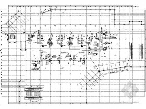 [上海]意式风格小镇空调通风设计施工图纸(9个商业区)