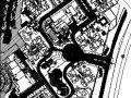 重庆小区景观施工图全套