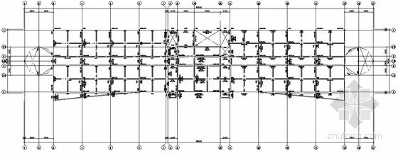 [毕业设计]六层框架综合楼结构施工图