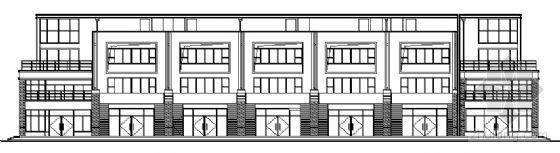 山东香港五金家居城B3块改造工程建筑施工图