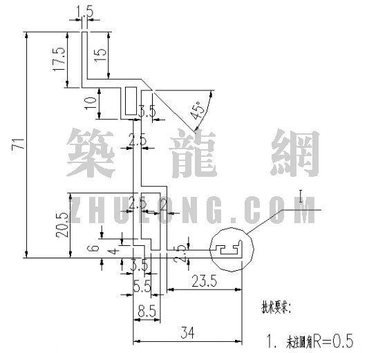 泰丰型材TF-036