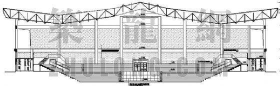 某灯光球场建筑设计方案