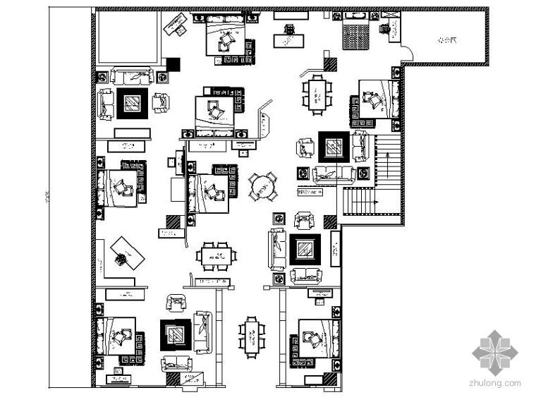 某高档家具卖场室内装修图