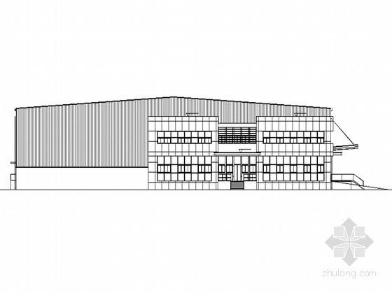 [昆山]某单层仓储楼项目建筑扩初图(3、4号楼)