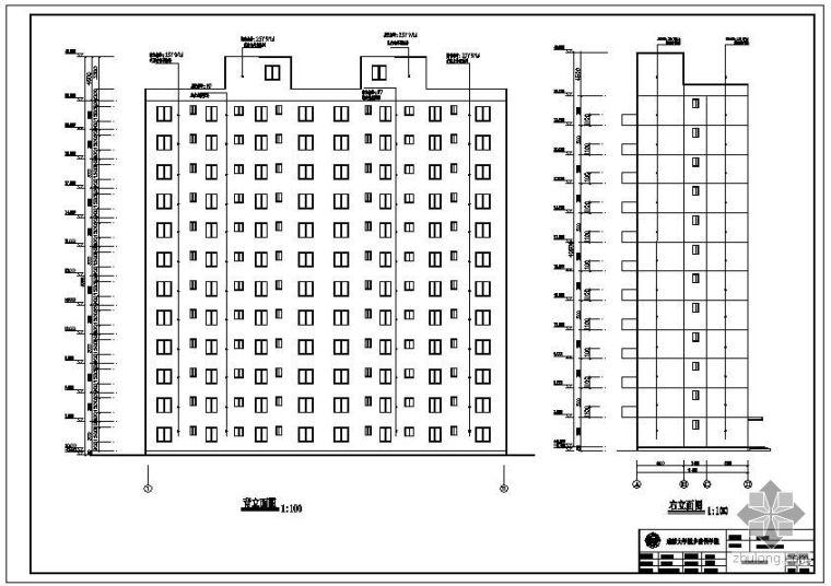 [学士]成都某12层框架住宅毕业设计(含设计说明、建筑结构设计图)_2