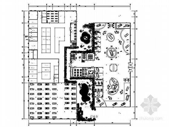 [学生作品]宝马汽车展厅设计施工图(含模型效果)