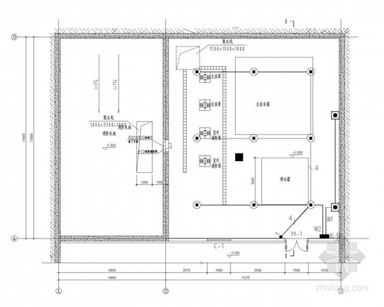 [辽宁]度假区水泵房电气施工图(最新)