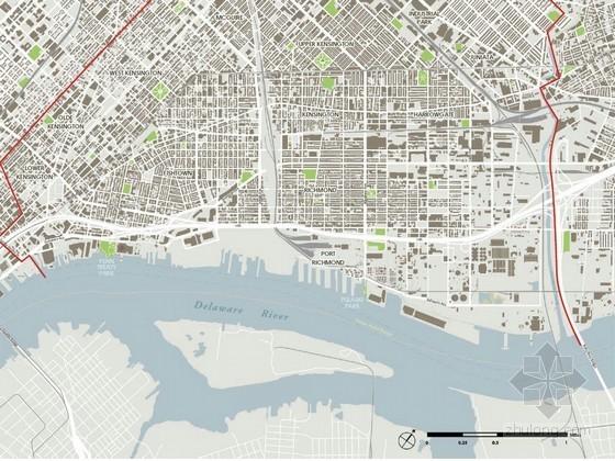 [宾夕法尼亚]滨水河道景观带规划设计方案