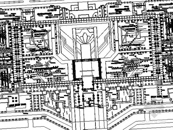 [许昌]某公园植物种植设计施工图