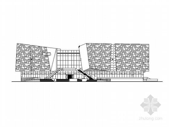 [安徽]3层展览馆及活动中心建筑施工图(2014年图纸)