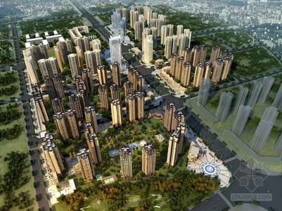 [成都]现代风格住宅片区概念性规划设计方案文本(知名建筑设计院)