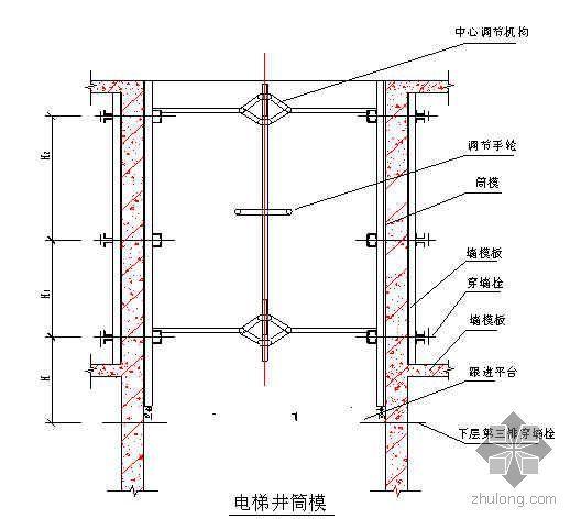 """天津某高层办公楼施工组织设计(42层""""海河杯"""")"""