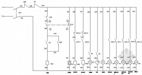 变频恒压供水系统成套设计图纸