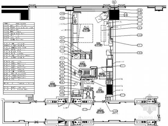[成都]某广场酒店客房样板间深化施工图