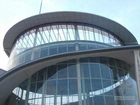 客运站玻璃幕墙工程施工招标文件(清单计价87页)