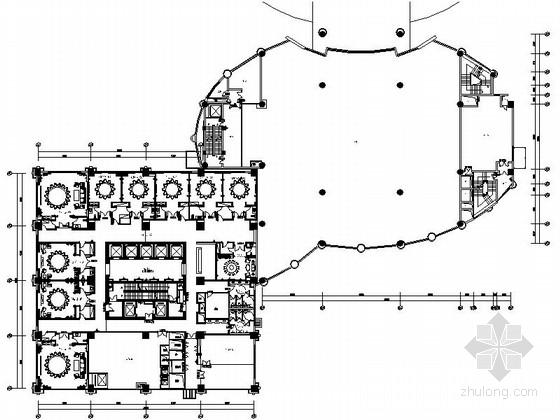 [江苏]某五星级酒店餐饮包厢区室内装修施工图(含效果)