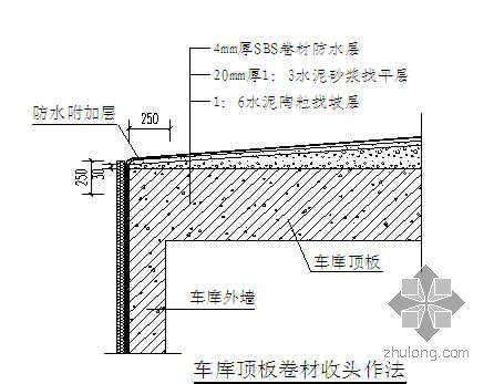 河北某高层住宅屋面施工方案(种植屋面 聚乙烯丙纶卷材)