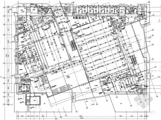 [浙江]文化建筑空调通风及防排烟系统设计施工图(风冷热泵螺杆机组)