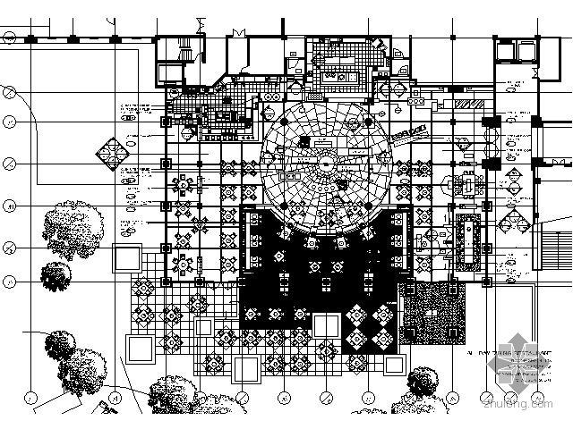 [三亚]五星级酒店全日餐厅施工图