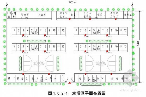 [福建]火车站站房施工组织设计(框架结构 大量图表)