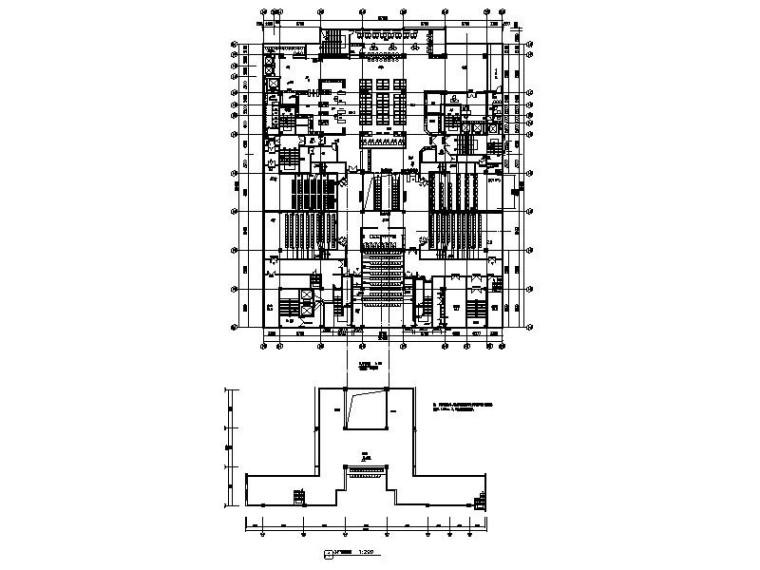 [新疆]高端大气时尚潮流休闲电影院室内设计施工图(含效果图)