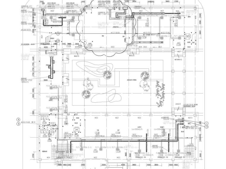 [上海]多层数据中心空调通风及防排烟系统设计施工图(知名集团)