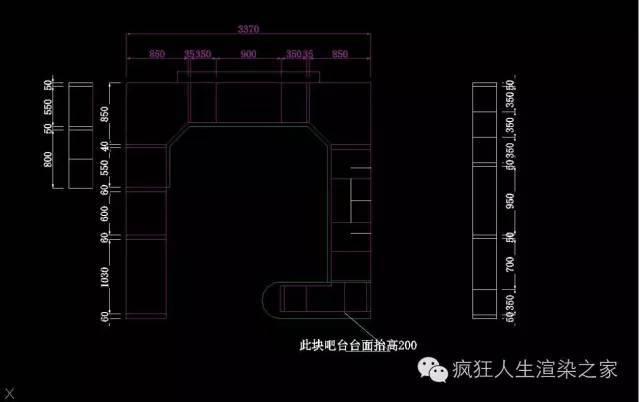 橱柜表现简单制作流程