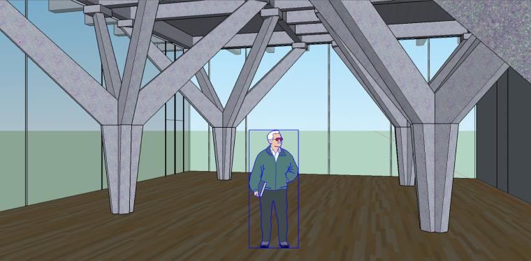 这种结构做成茶室功能分区要怎么围合呢