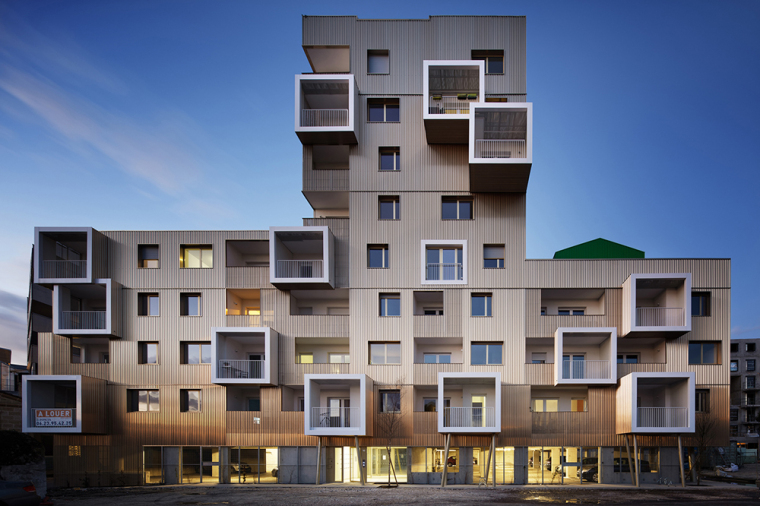 波尔多Bassins à Flot地区住宅项目丨Hamonic+Masson & Assoc