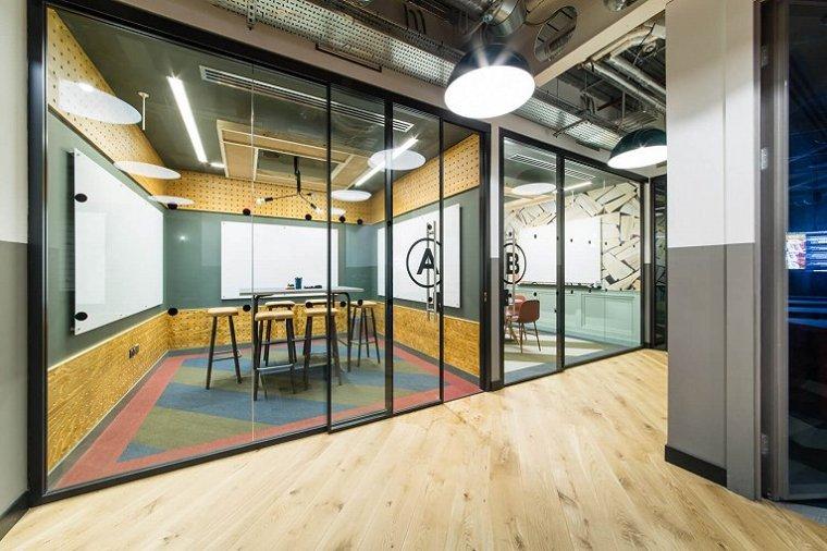 咖啡厅风格的联合办公空间-帕丁顿区WEWORK联合办公室室内实景图 (14)