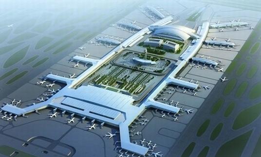 广州白云机场设计图资料下载-广州白云机场灯位图