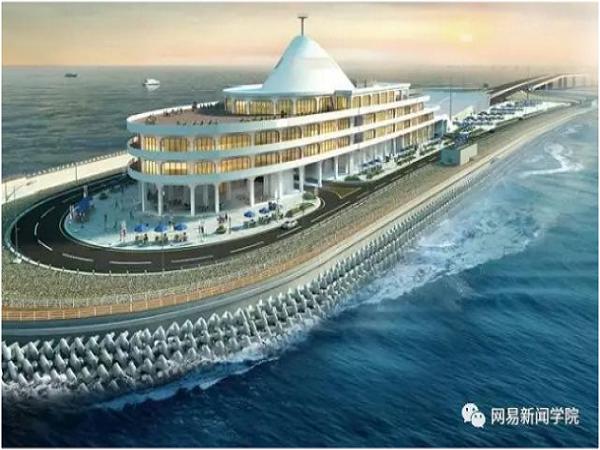 用钢圆管筑岛,港珠澳大桥人工岛这方案完胜日本|了不起的中国_1