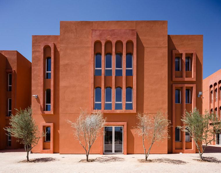 摩洛哥穆罕默德六世大学校园