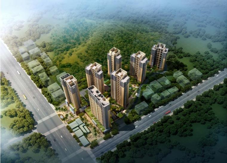 [深圳]现代简洁风格住宅区规划设计方案文本