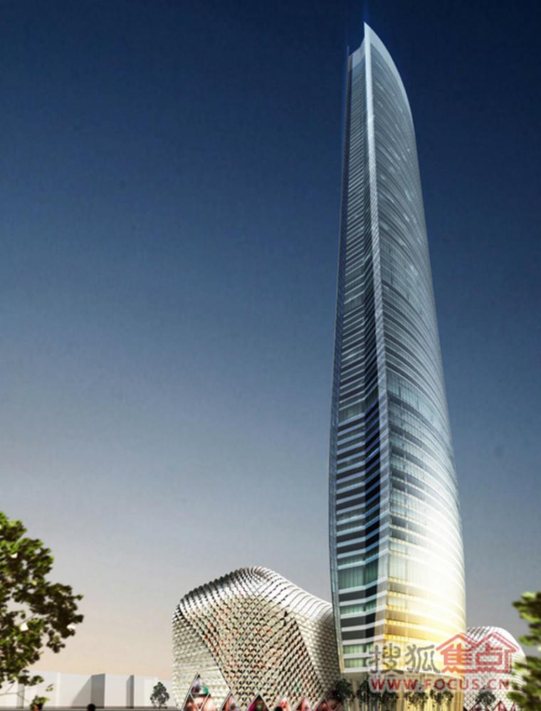 """南京建400米超高层""""奥体苏宁广场"""",预计2018年完成施工!"""