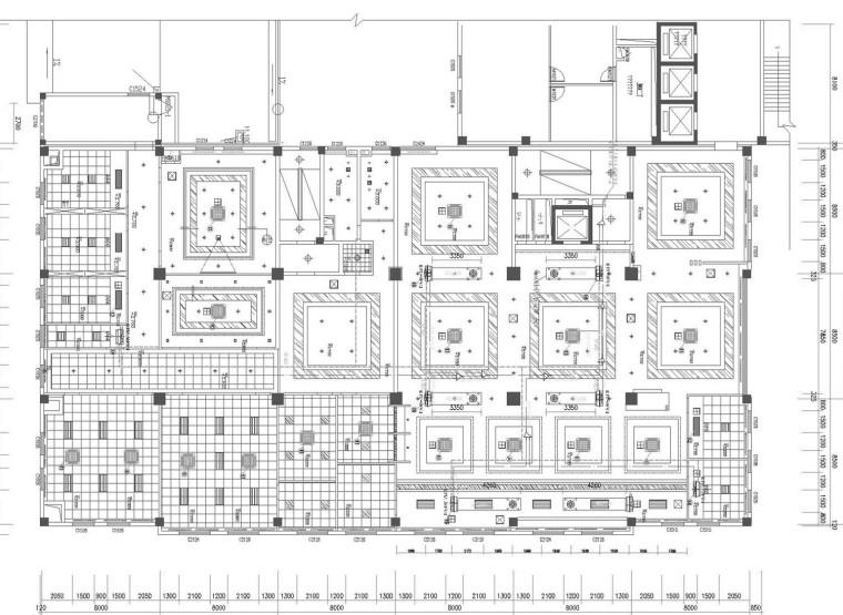[浙江]多层行政服务中心空调通风系统设计施工图(含装饰装修设计)