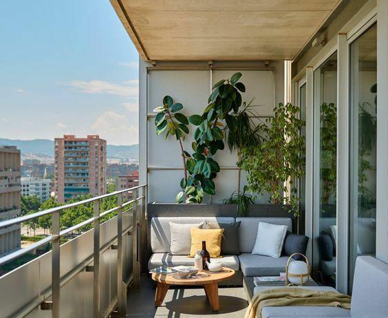 30个开放式阳台花园设计方案_33