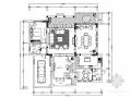 [富阳]简约美式两层联排别墅样板间CAD装修施工图(含高清实景)