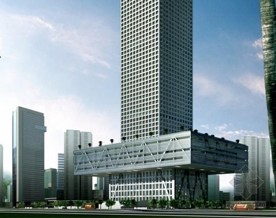 [广东]超高层核心筒混合结构办公楼工程屋面工程专项施工方案(屋面节点做法图较多)