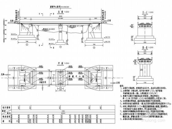 2x13m简支梁空心板桥全套施工图(43张)