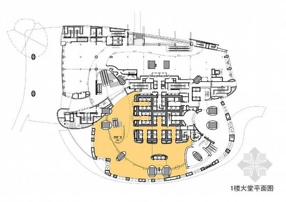 [上海]超高层地标式摩天商务现代办公大楼设计方案