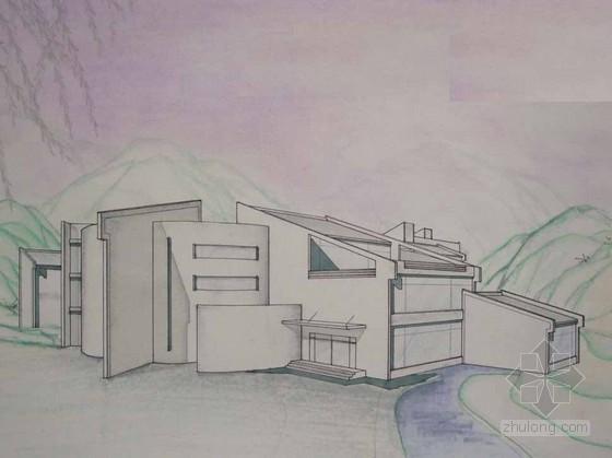 [课程设计]某山地旅馆设计方案