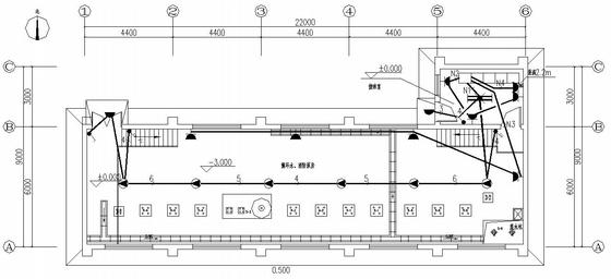 某工业区泵房电气施工图