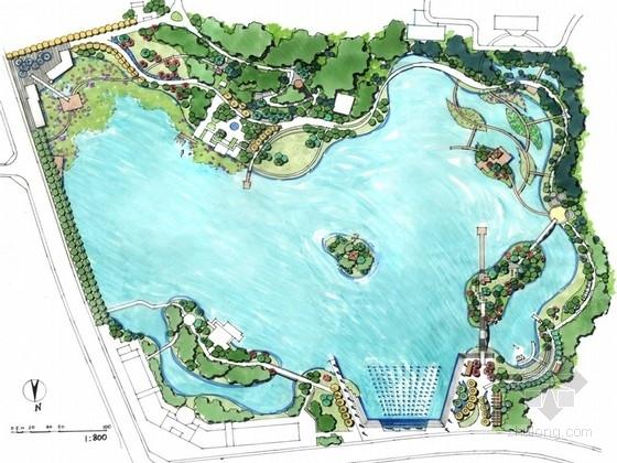[湖南]环湖活力公园景观规划设计方案