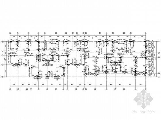 18层剪力墙住宅结构施工图(素混凝土刚性复合地基)
