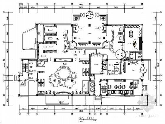 [江苏]旗舰型现代商务宾馆室内装修施工图(含效果)
