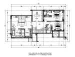 【广东】新中式京基别墅CAD施工图(含效果图)