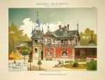 100年前德国建筑设计手稿