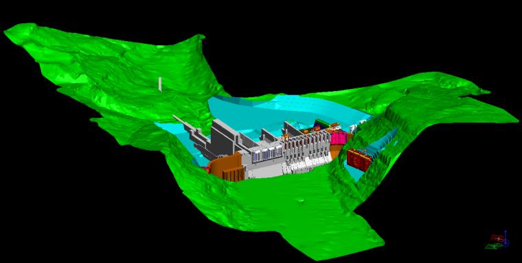 BIM在水电站施工分仓浇筑管理中的应用
